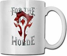 DJNGN Für die Horde Cup Porzellan Cup Mug 330ml