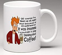 DJNGN Futurama Kaffeetasse   Kaffeetasse braten  