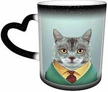 DJNGN Gentleman Cat Unisex Sternenhimmel