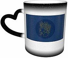 DJNGN Kreative Verfärbung Kaffeebecher