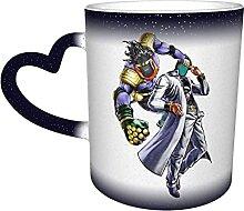 DJNGN Kreative Verfärbung Kaffeetassen Jotaro
