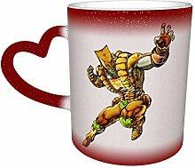 DJNGN Kreative Verfärbung Kaffeetassen The World