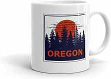 DJNGN Lustige Humor Neuheit Oregon State Pride 11