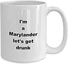 DJNGN Marylander lässt Tasse, Kaffee oder