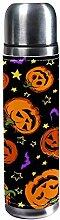 DJNGN Muster mit festlichen Halloween-Kürbissen