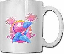 DJNGN Steam Wave Art Cup Porzellan Cup Becher