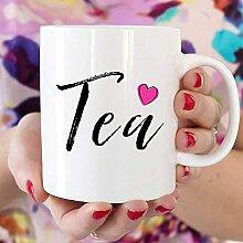 DJNGN Teebecher, Kaffeetasse, Teetasse, Geschenk