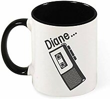 DJNGN Twin Peaks Diane Diktiergerät Keramik