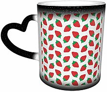 DJNGN Wärme ändernde Keramik-Kaffeetasse,