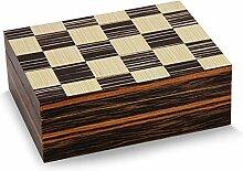 DJR Zigarren-Kiste, Humidor Zedernholz Interieur