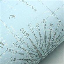 DJSkd Mediterranes Papier, Kinderzimmer-Tapete,
