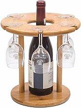 DJSMjbj Europäisches Weinregal aus Massivholz,