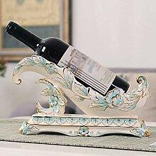 DJSMjbj Europäisches Weinregal Dekoration