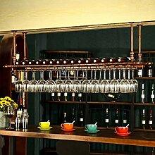 DJSMjbj Weinglasregal, europäischer Stil, zum