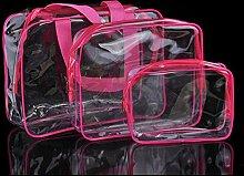 DKFS Transparente PVC-Tasche Reise