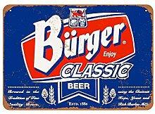 Dkisee 1934 Old Milwaukee Bier Vintage Blechschild