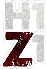 DKISEE 3 Stück Aufkleber H1Z1 HQ Druck schwarz,
