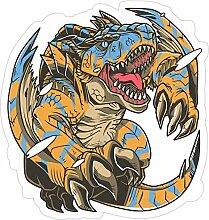 DKISEE 3 Stück Aufkleber Monster Hunter –