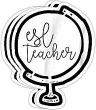 DKISEE Aufkleber ESL Lehrer Englisch