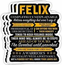 DKISEE Aufkleber Felix Absolut unerklärlich Felix