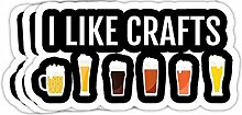 DKISEE Aufkleber für Biertrinker, lustiges