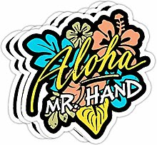 DKISEE Aufkleber für Stoßstange, Motiv: Aloha