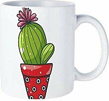 Dkisee Blühender Kaktus-Pflanzen-Anzuchttopf (16)