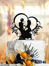 DKISEE Cake Topper, Lesbian Cake Topper with