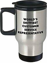 DKISEE Customer Service Representative Travel Mug