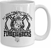 DKISEE Feuerwehr-Kaffeetasse – Geschenk für