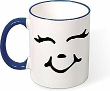 DKISEE Kaffeetasse, Tee-Tasse, grinsendes