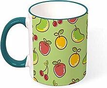 DKISEE Kaffeetasse, Tee-Tasse, Kirsch-,