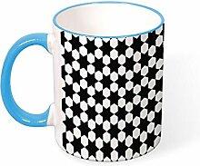 DKISEE Kaffeetasse Tee Tasse Muster 2497982
