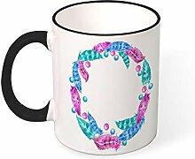 DKISEE Kaffeetasse, Tee-Tasse, Schönheitskranz,