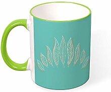 DKISEE Kaffeetasse Tee Tasse Stift Kaffeetassen