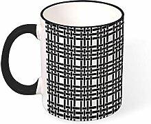 DKISEE Kaffeetasse, Tee-Tasse, strukturiert,