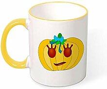 DKISEE Kaffeetasse Tee Tasse Terror Kürbisse