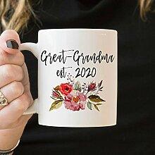 DKISEE Keramiktasse, lustig, weißer Kaffeetasse,
