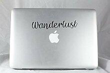 Dkisee Wanderlust MacBook Pro Aufkleber –