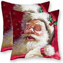 Dkisee Weihnachten Dekorative Überwurf