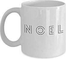 Dkisee Weihnachtsgeschenk Kaffeetasse – Noel –