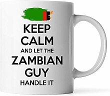 DKISEE Zambian Geschenk für Männer Opa Papa