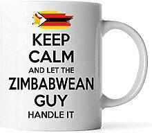 Dkisee Zimbabwean Kaffeetasse, Geschenk für