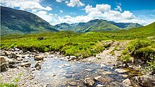 DKMDT 1000 Teile Puzzle Schottland, Berge, Fluss,
