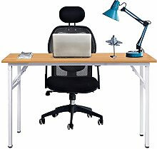 DlandHome 100 * 60cm Schreibtisch Computertisch