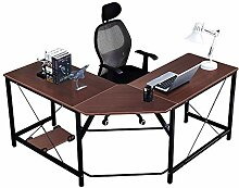 DlandHome 150 cm + 150 cm Computertisch