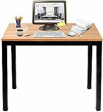 DlandHome Computertisch Schreibtisch 100 * 60 cm,