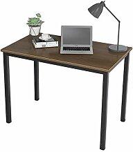 DlandHome Computertisch Schreibtisch 100 x 60 cm,