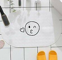 DLC Badezimmerzubehör Duschraum Toilettenmatte