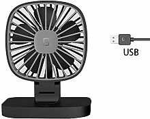 DLDL 5V USB-Elektroauto-Ventilator,